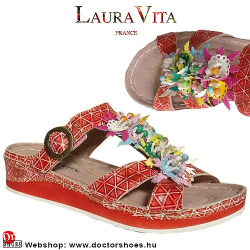 Laura Vita BRUEL red | DoctorShoes.hu