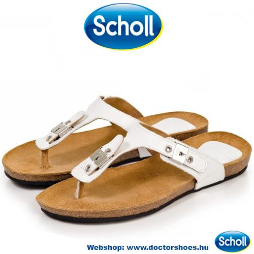 Scholl Bimini White | DoctorShoes.hu