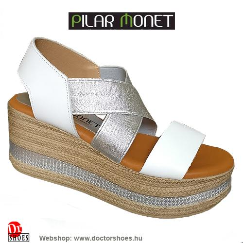 PilarMonet Blanco white | DoctorShoes.hu