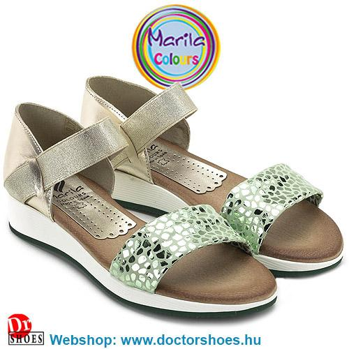 Marila Menta green   DoctorShoes.hu