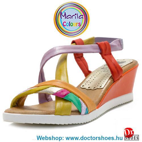 Marila Zula orange ÚJ   DoctorShoes.hu