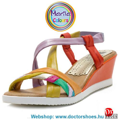 Marila Zula orange ÚJ | DoctorShoes.hu
