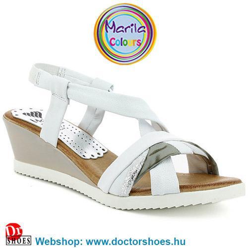 Marila Zula white   DoctorShoes.hu