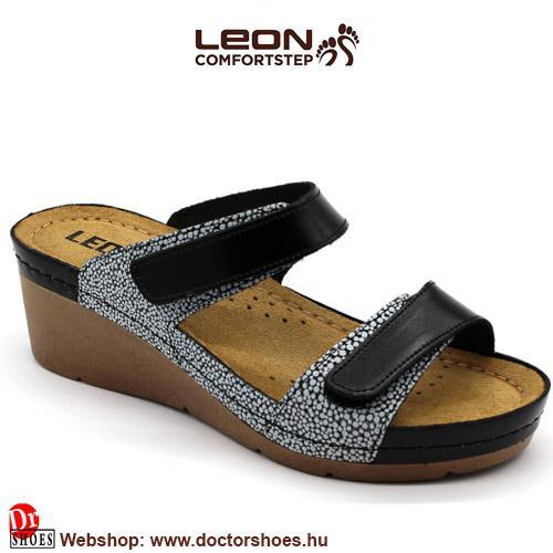 LEON Endy black   DoctorShoes.hu