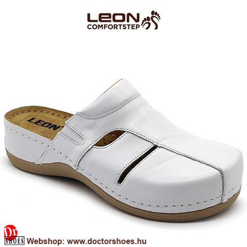 LEON Medal white   DoctorShoes.hu