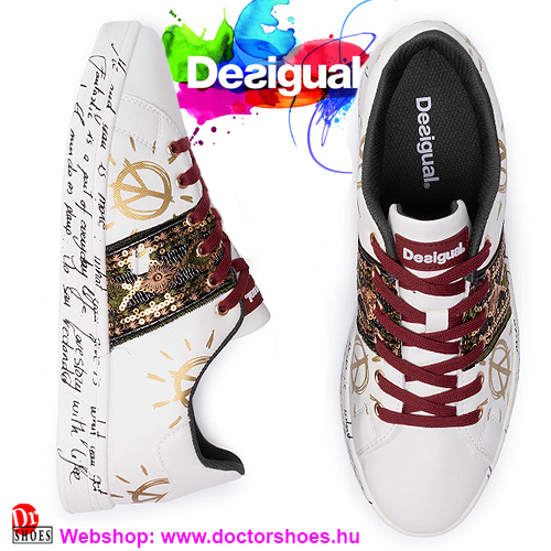 DESIGUAL Cosmic Exotic white | DoctorShoes.hu