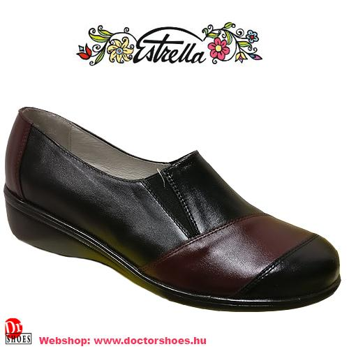 Estrella Feta fekete | DoctorShoes.hu