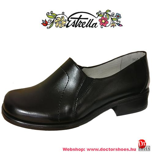 Estrella Dopi fekete | DoctorShoes.hu