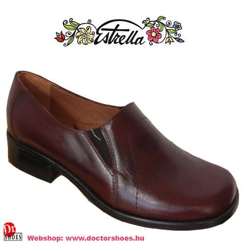 Estrella Dopi bordó | DoctorShoes.hu