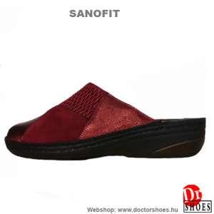 Sanofit Balla red | DoctorShoes.hu