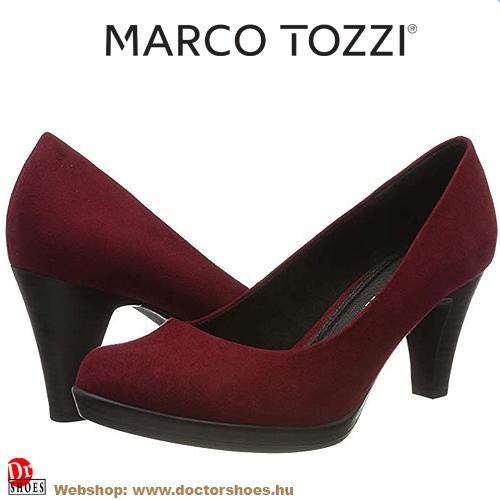 Marco Tozzi Fina bordó | DoctorShoes.hu