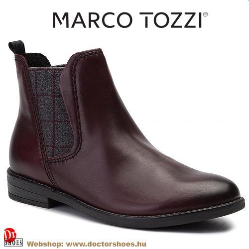 Marco Tozzi Ware bordó | DoctorShoes.hu