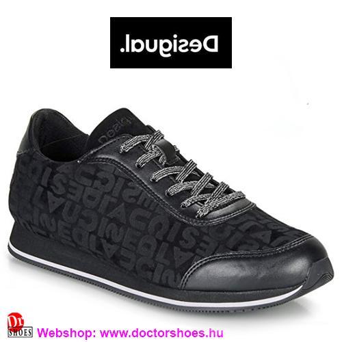 DESIGUAL Pegaso black | DoctorShoes.hu