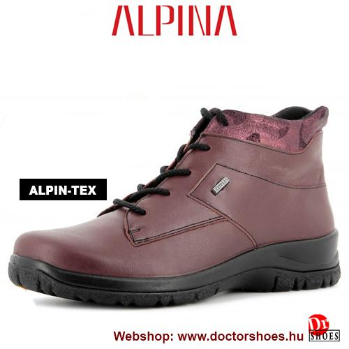 ALPINA Nero bordó | DoctorShoes.hu