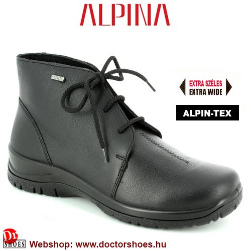 ALPINA NERO black | DoctorShoes.hu