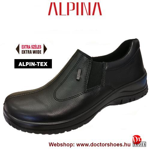 ALPINA Rony black | DoctorShoes.hu