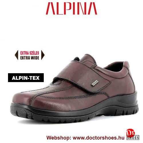 ALPINA Kera bordó | DoctorShoes.hu