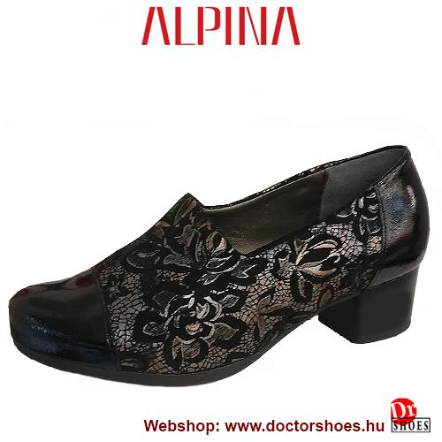 ALPINA Neca black | DoctorShoes.hu