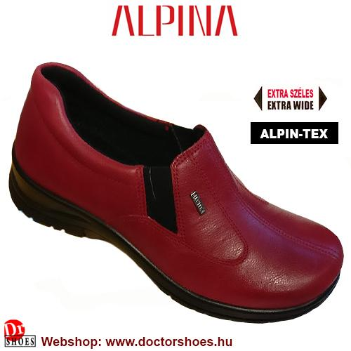 ALPINA Rony red | DoctorShoes.hu