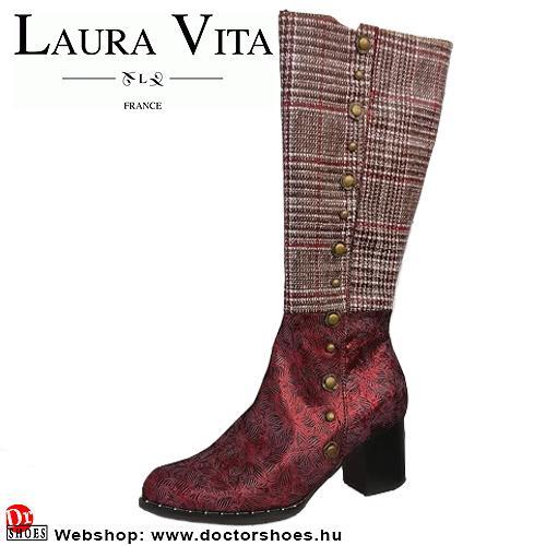 Laura Vita Emili red | DoctorShoes.hu