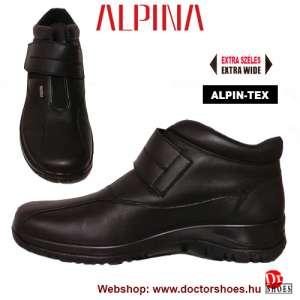 ALPINA Alec black   DoctorShoes.hu