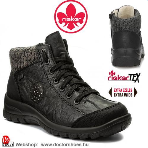 Rieker Gatti black | DoctorShoes.hu