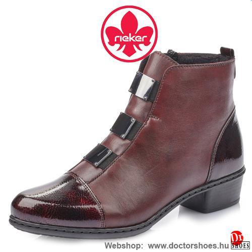 Rieker Trina bordó | DoctorShoes.hu