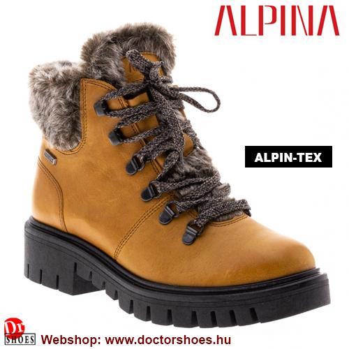 ALPINA Lili yellow   DoctorShoes.hu