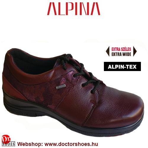 ALPINA Danu bordó   DoctorShoes.hu