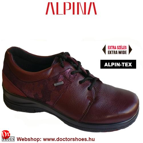 ALPINA Danu bordó | DoctorShoes.hu