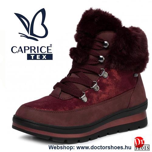 Caprice Snow bordó | DoctorShoes.hu