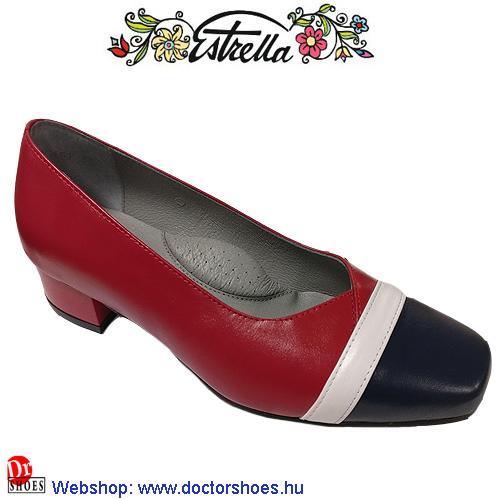 Estrella LADY piros-kék | DoctorShoes.hu