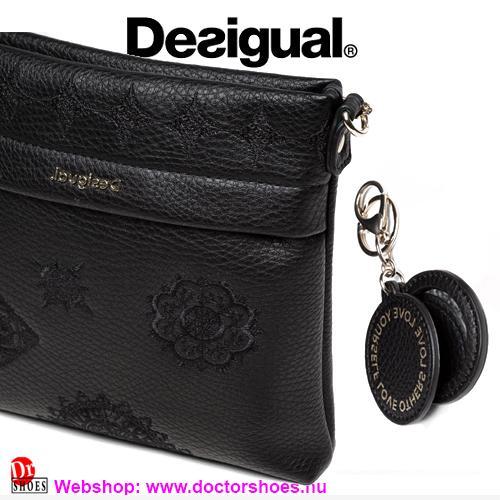 DESIGUAL KEMI black | DoctorShoes.hu