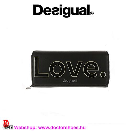 DESIGUAL LOLA black pénztárca   DoctorShoes.hu