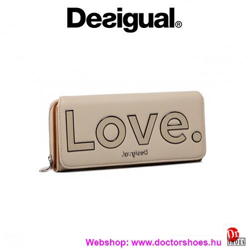 DESIGUAL LOLA beige pénztárca   DoctorShoes.hu