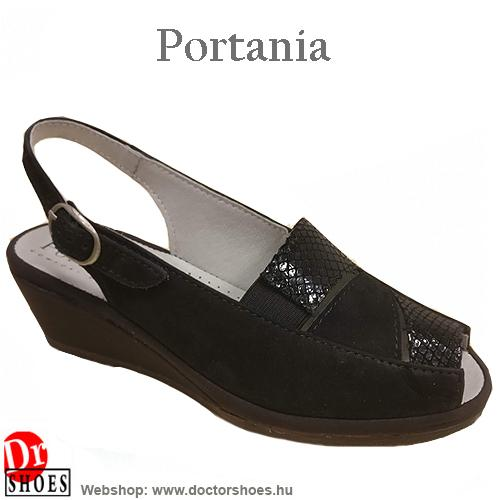 Portania RIVA black | DoctorShoes.hu