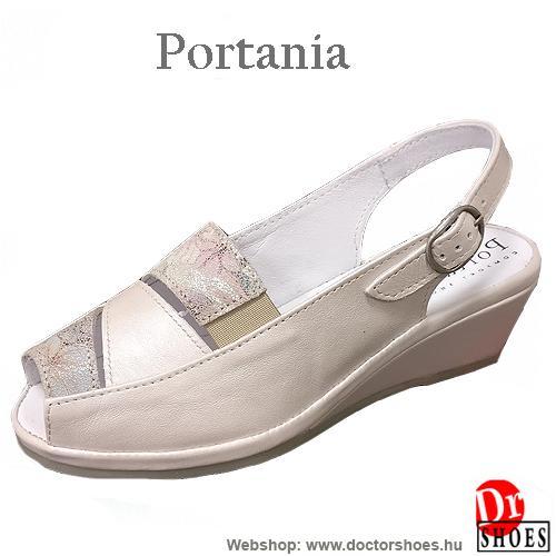 Portania RIVA beige | DoctorShoes.hu