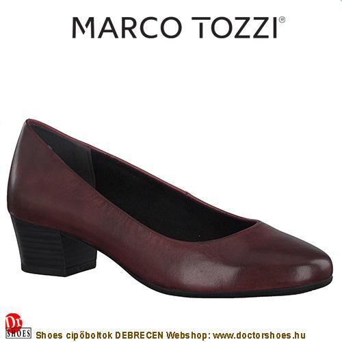 Marco Tozzi PENTA bordó | DoctorShoes.hu