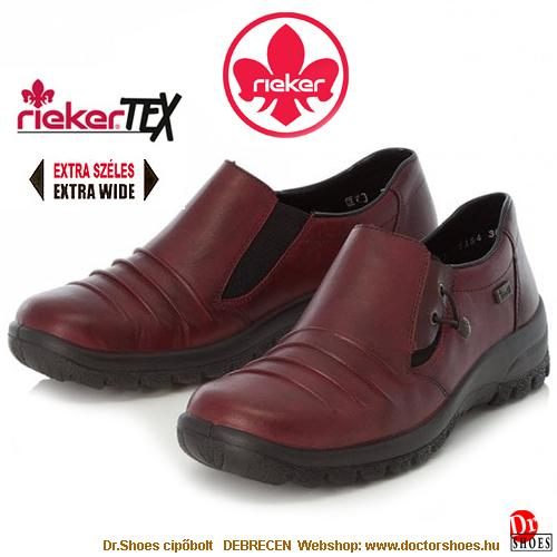 Rieker GITTA bordó | DoctorShoes.hu