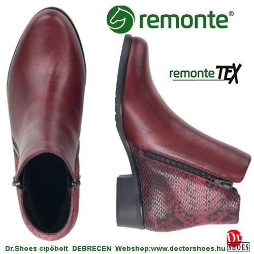 Remonte DORNA bordó | DoctorShoes.hu