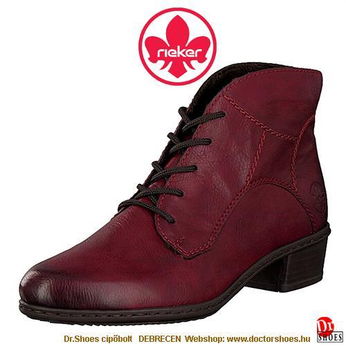 Rieker LIRA bordó | DoctorShoes.hu