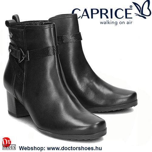 CAPRICE DREB black | DoctorShoes.hu