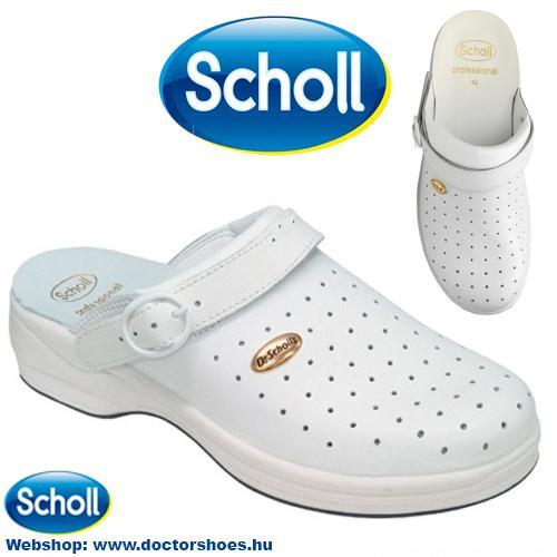 SCHOLL BONUS white | DoctorShoes.hu