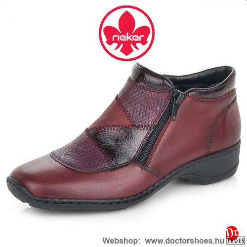 Rieker SUTTE bordó | DoctorShoes.hu