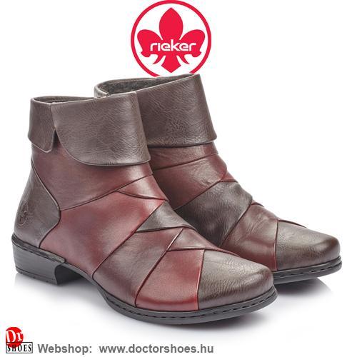 Rieker VANNA bordó | DoctorShoes.hu