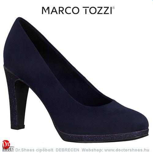 Marco Tozzi MERIL blue csillám | DoctorShoes.hu