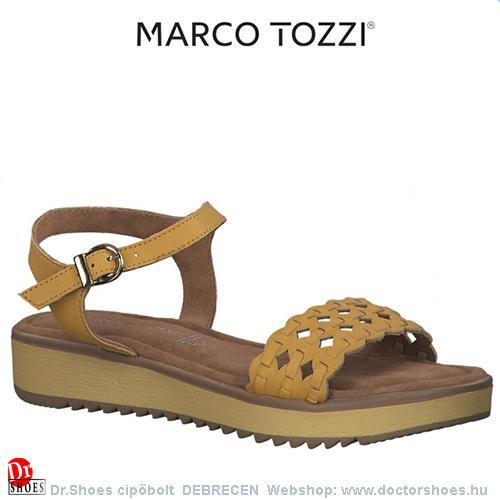 Marco Tozzi MOA sárga   DoctorShoes.hu