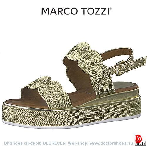 Marco Tozzi LUXA gold   DoctorShoes.hu