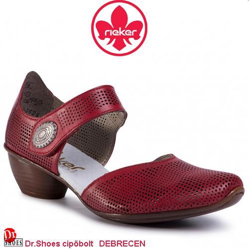 Rieker ELINA red   DoctorShoes.hu