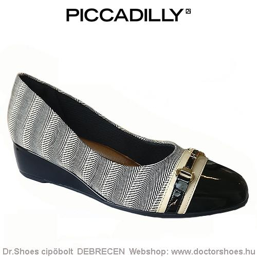 PICCADILLY PADITO black | DoctorShoes.hu